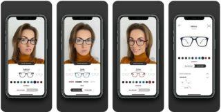 Headrix-App zur Brillen-Auswahl