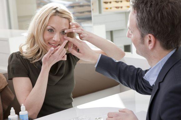 Kontaktlinsen und Beratung