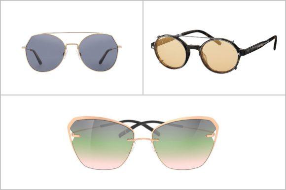 KGS - Sonnenbrillen -Trends 2020 - 1 Gläser Pastell