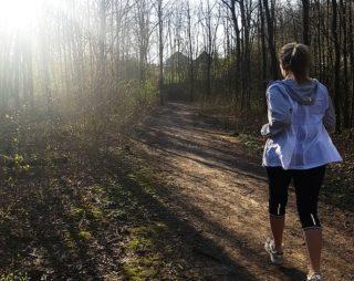 Markus T - Social-Media-Kampagne My coroNo Moment - Sandra  beim Joggen