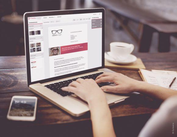 Optiswiss - Marketingtool Media Creator