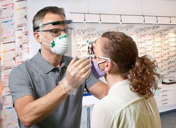 Schweizer - Gesichts-Shield - Augenoptik