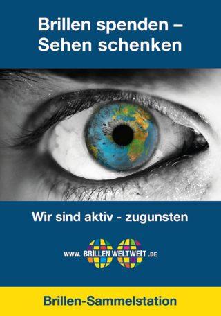 BrillenWeltweit - Info-Material - Plakat Auge