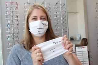 Brillen Guru - Ilona Stubbe - Augenoptiker Maske