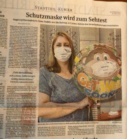 Brillen Guru - Ilona Stubbe - Zeitungsbericht