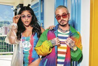 Marcolin - Guess J Balvin Colores - Sara Orrego und J Balvin