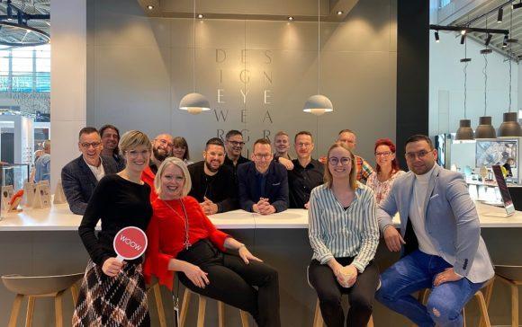 Design Eyewear Group - Team am Messestand