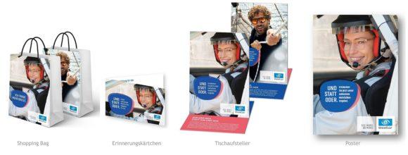 Essilor - Mehrbrillen-Kampagne 2020 POS-Material