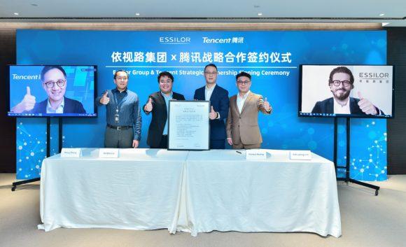 Essilor und Tencent - Strategische Partnerschaft China