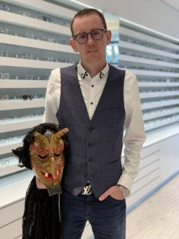 Patent und Schutzrecht - Philip Reuter - Faschings-Maske