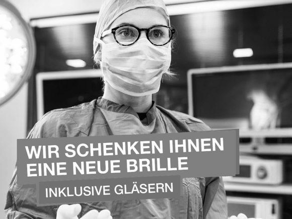 Brillen-Geschenke unzulässig - Aktion Pro Optik