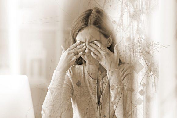 Sehen Augenschmerzen