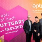 opti - Stuttgart 2021 - Dieter Dohr, Bettina Reiter und Stefan Lohnert