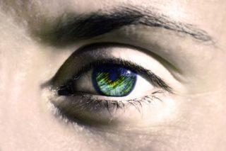 Kontaktlinsen - Auge