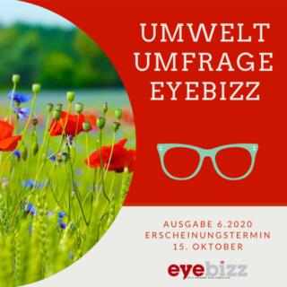 Umwelt und Augenoptik Umfrage