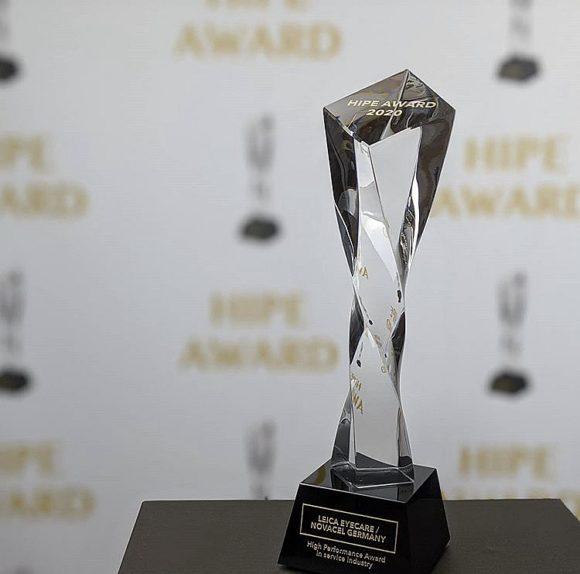 Leica Eyecare und Novacel Germany - HIPE Award 2020