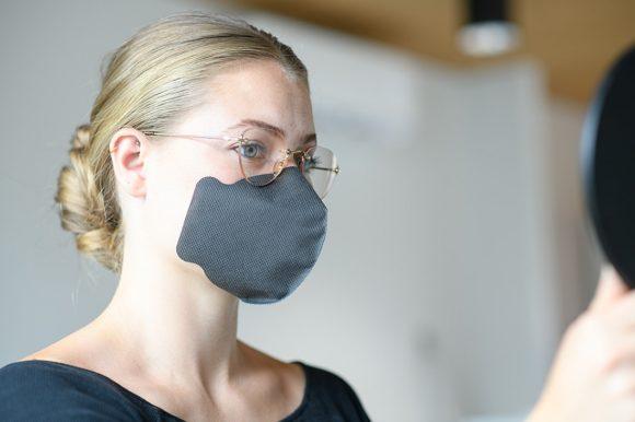 Klebemundschutz von CopenTrade - Maske von Kim Bezold