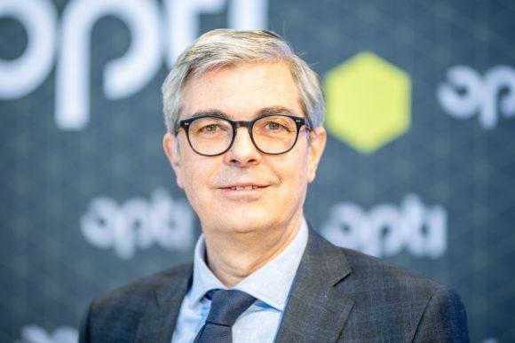 Dieter Dohr von der GHM (hier auf opti 2020)