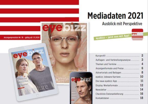 eyebizz Mediadaten 2021