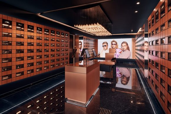 Edel-Optics Ballindamm Boutique innen