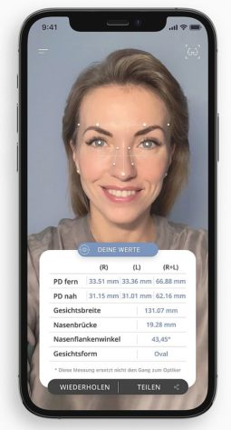 Headrix App - Face Metrix