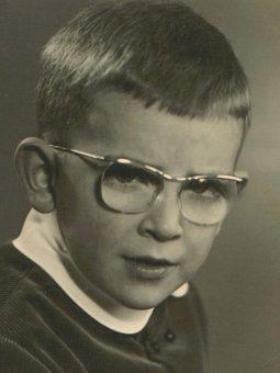 Patrick Hoet als Kind