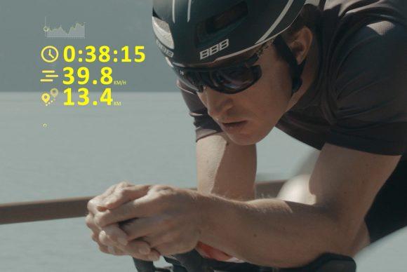 Julbo - Sportbrille e-Glass EVAD-1
