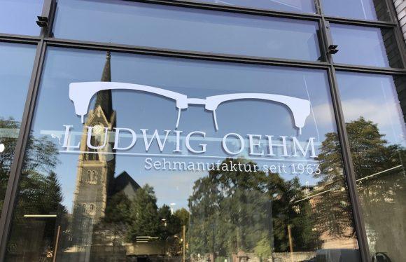 Ludwig Oehm Frankfurt - Schaufenster
