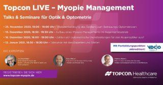 Topcon - Myopie-Management Seminare