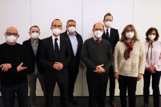 Augenoptiker: Der Vorstand der neuen AOI Köln-Aachen