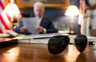Brillen-Ikonen im Weißen Haus - Joe Biden auf Instagram