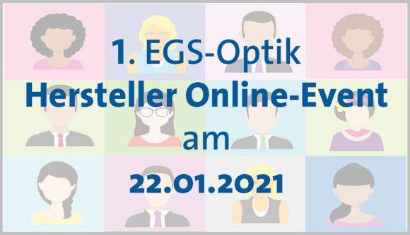 EGS-Optik Hersteller-Online-Event 2021