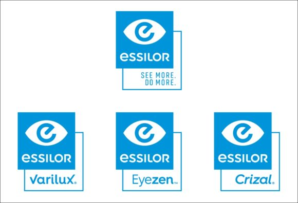 Essilor - новая структура бренда и корпоративный дизайн