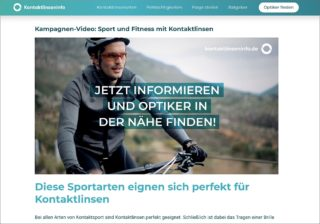 Kontaktlinsen-Digital-Kampagne 2020: Video Sport vom KGS