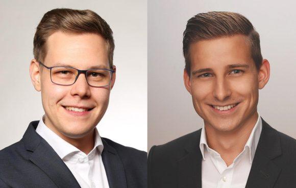Neu beim Seiko-Außendienst - Dominik Gellner und Alexander Kriesten