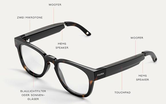 Smart Glasses - Fauna-Modell Memor