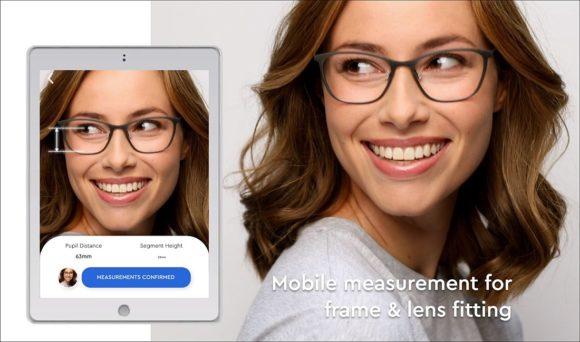 Tribe App Lens fitting - Website