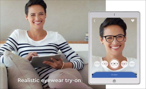 Tribe App Eyewear Try-on - Website