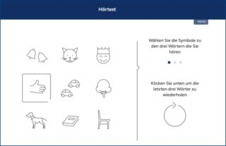 Hörakustik - GN Hearing ReSound Online-Test