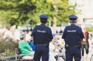 Dienst-Sonnenbrillen Polizei Austria