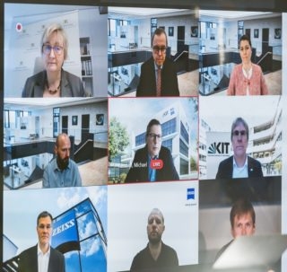 Zeiss Innovation Hub am KIT - Virtuelle Eroeffnung