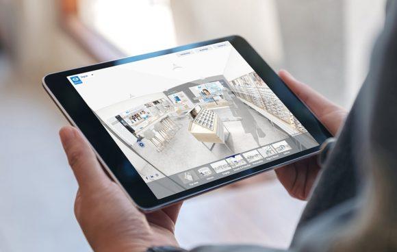 Essilor - Showroom interaktiv Virtual Experience