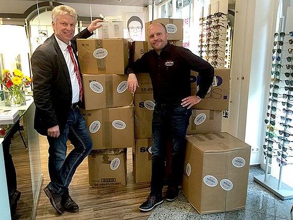 Mosqua Brillen Spendenaktion 2018