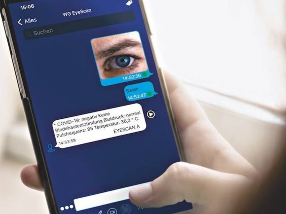 Semic EyeScan mit Smartphone
