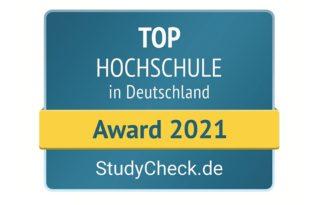 Aalen - Top Hochschule 2021 StudyCheck