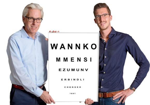 Roland Brökelschen und Benedikt Thommessen
