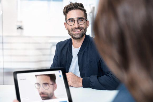 Zeiss Visufit 1000 - Virtual Try on - Augenoptiker Beratung