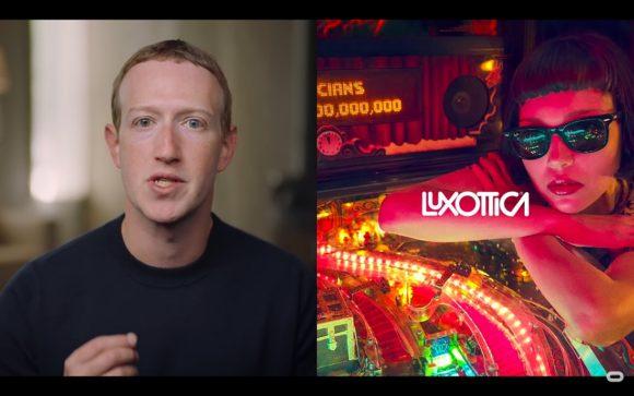 Smart Glasses - Mark Zuckerberg Partnerschaft mit EssilorLuxottica