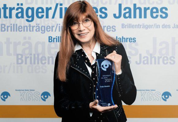 Brillenträgerin des Jahres 2021 KGS - Katja Ebstein