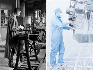 Zeiss 175 Jahre - damals und heute
